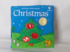 My 1st Baby 'Christmas' Usborne Plush Rattle Book